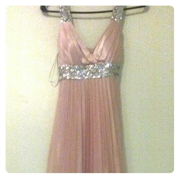 B Darlin Dresses Name Brand Bdarlin Silk Prom Dress Poshmark